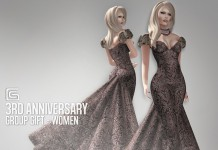 Formal Gown 3rd Anniversary Group Gift by Gizza Creations - Teleport Hub - teleporthub.com