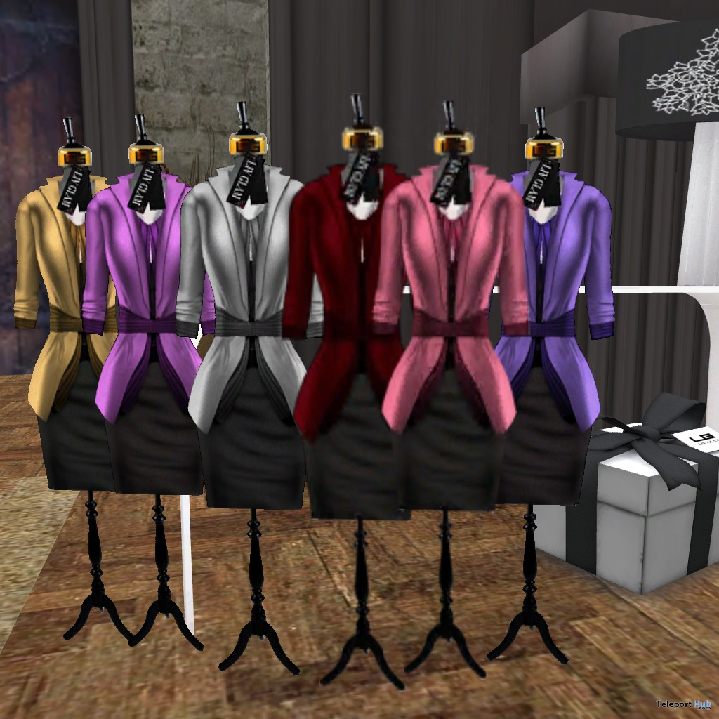 Not Giving In Dress The 24 Fashion Event Gift by Liv Glam - Teleport Hub - teleporthub.com