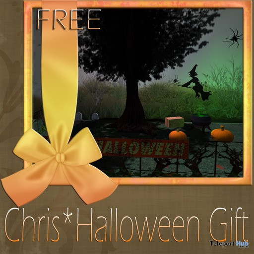 Halloween Goodies Box by Chris Garden - Teleport Hub - teleporthub.com