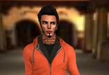 Red Hoodie For Men October 2013 Group Gift by Linealrise Design - Teleport Hub - teleporthub.com
