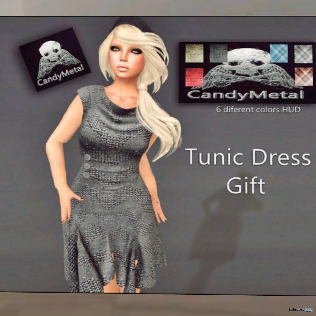 Tunic Dress Fat Pack 6 Colors Group Gift by Candy Metal - Teleport Hub - teleporthub.com
