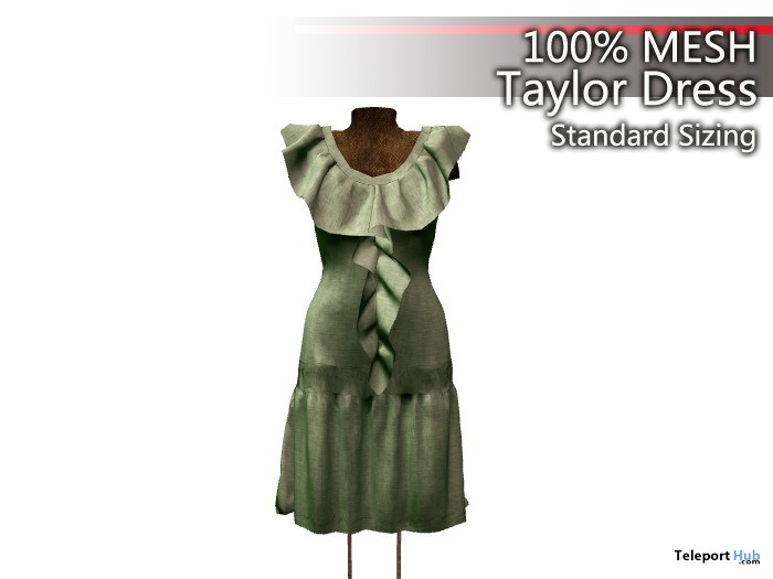 Taylor Dress Rigged Mesh Promo by Cambridge House - Teleport Hub - teleporthub.com