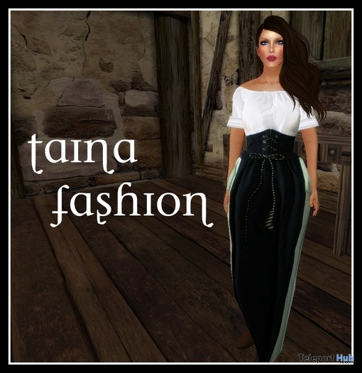Medieval Gown Promo by Taina Fashion - Teleport Hub - teleporthub.com