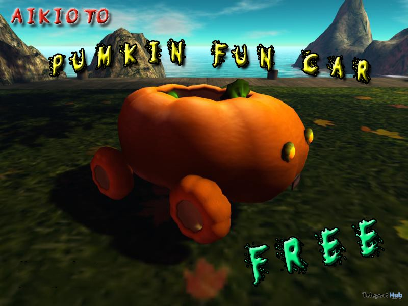 Pumpkin Fun Car by AIKIOTO - Teleport Hub - teleporthub.com