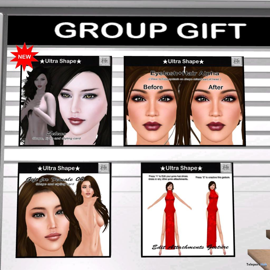 Women Shapes Group Gift by Ultra Shape - Teleport Hub - teleporthub.com