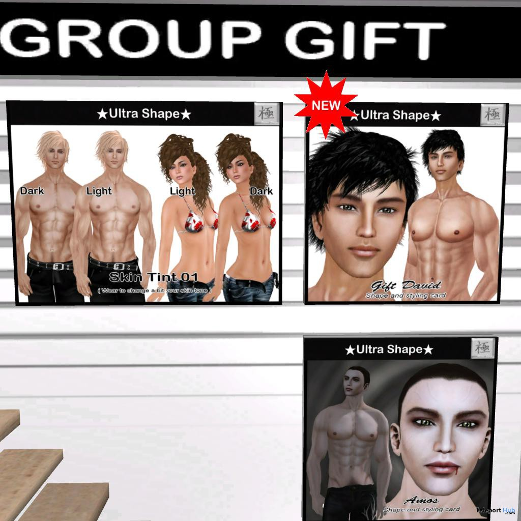 Men Shapes Group Gift by Ultra Shape -  Teleport Hub - teleporthub.com