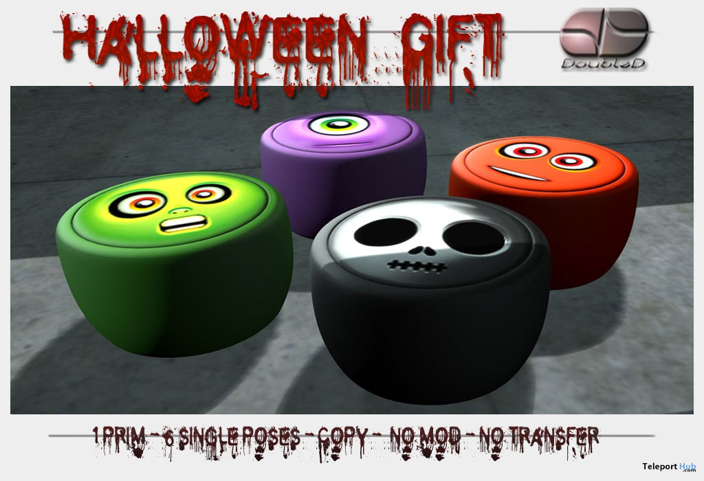 Halloween Gift by DoubleD - Teleport Hub - teleporthub.com