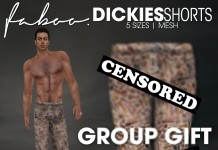 Mesh Dickies Shorts for Men Group Gift by FABOO - Teleport Hub - teleporthub.com