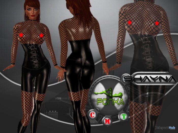 Shayna Latex by Ponka Designs - Teleport Hub - teleporthub.com