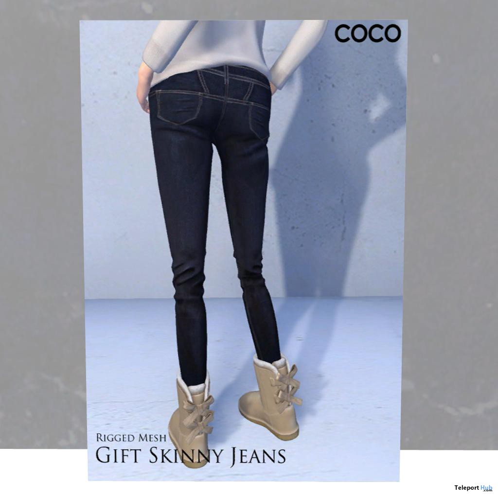 Skinny Jeans Group Gift by Coco Designs - Teleport Hub - teleporthub.com