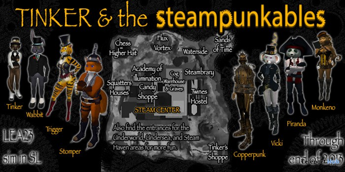 Steampunkables Hunt - Teleport Hub - teleporthub.com