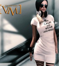 Keep Calm and Wear Vero Modero Group Gift by VERO MODERO - Teleport Hub - teleporthub.com