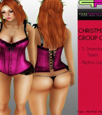 Corsets Christmas Group Gift by Pure Perfection - Teleport Hub - teleporthub.com