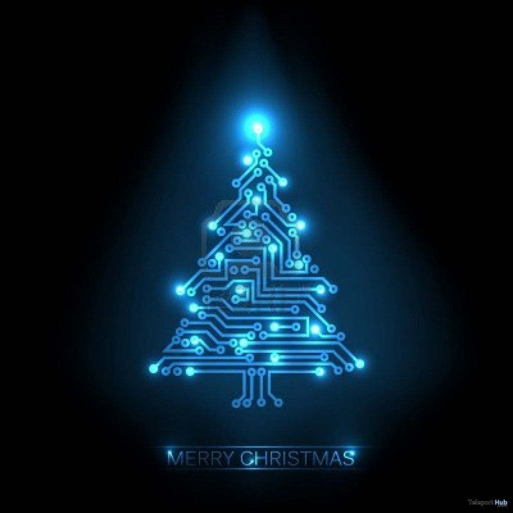digital art christmas tree - photo #49