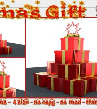 Xmas Gift Box Decor Group Gift by Double D - Teleport Hub - teleporthub.com