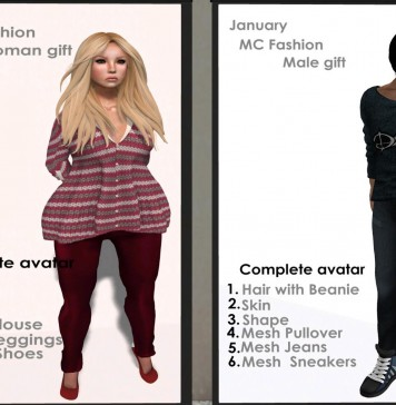 Complete Avatar and Outfits for Men and Women Group Gift by MC Fashion - Teleport Hub - teleporthub.com