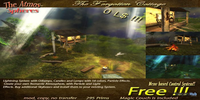 the forgotten cottage free promo by the atmospheres