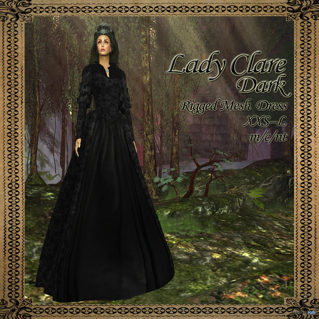 Lady Clare Dusk Medieval Mesh Dress Group Gift by BMe