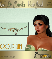 St Patrick's Head Jewel Group Gift by Kawala - Teleport Hub - teleporthub.com