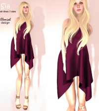 Sia Mesh Dress Limited Time Gift by Elemiah Design - Teleport Hub - teleporthub.com