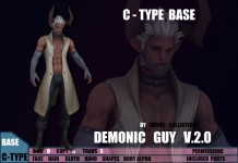 Demonic Guy Ver 2.0 Avatar by ZMOON Collection - Teleport Hub - teleporthub.com