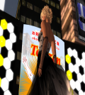 Dotted Amour Silver Gown Group Gift by PARIS Metro Couture - Teleport Hub - teleporthub.com
