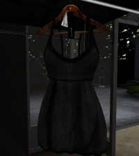 Black Mini Dress Group Gift by Overhigh - Teleport Hub - teleporthub.com