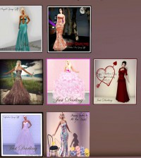 7 Beautiful Gowns Group Gift by Just Darling - Teleport Hub - teleporthub.com