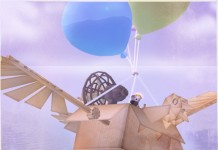 Balloon Cardboard Airship by MelonPie - Teleport Hub - teleporthub.com