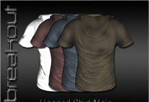 Mens Hooded Shirt 1L Promo by BREAKOUT - Teleport Hub - teleporthub.com