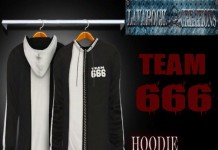 Team 666 Hoodie May 2004 Group Gift by Lavarock Creations - Teleport Hub - teleporthub.com