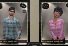 Mesh Shirt and Blouse for Men and Women Group Gift by N&B Design - Teleport Hub - teleporthub.com