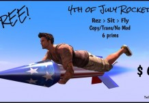 4th of July Rocket by Ty Yifu - Teleport Hub - teleporthub.com