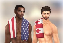 USA and Canada Trunks and Towels Subscriber Gift by FATEwear - Teleport Hub - teleporthub.com