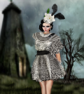 Silver Sequins Dress Group Gift by BLUE COUTURE - Teleport Hub - teleporthub.com