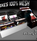 1 Prim Mesh CD or LP Disc Boxes by Daffy's Gadgetmania - Teleport Hub - teleporthub.com