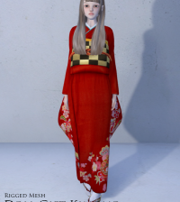 Doll Kimono Group Gift by COCO Designs - Teleport Hub - teleporthub.com