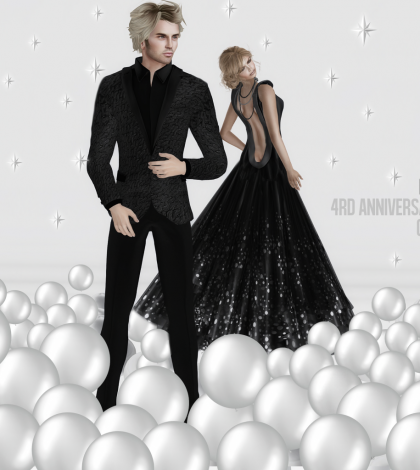 Tuxedo and Dress 4th Anniversary Group Gifts by Gizza Creations - Teleport Hub - teleporthub.com