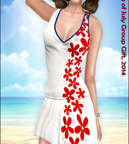 Spring Fling Dress Group Gift by Sassy! - Teleport Hub - teleporthub.com