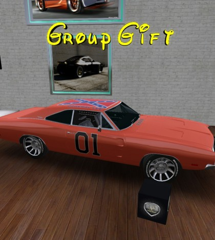 General Lee Car Group Gift by SURPLUS MOTORS - Teleport Hub - teleporthub.com