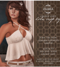 Lila Crop Top Group Gift by ZAARA - Teleport Hub - teleporthub.com