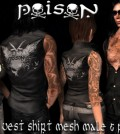 Unisex Poison Vest Group Gift by Poison - Teleport Hub - teleporthub.com