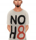 Mens Vintage Tee NoH8 by 7th Store - Teleport Hub - teleporthub.com