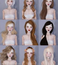 Non-Rigged Mesh Doll Heads Group Gift by COCO Designs - Teleport Hub - teleporthub.com