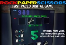 Rock Paper Scissors Fast Paced Game with Prize Giver by GREBO - Teleport Hub - teleporthub.com
