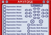 AnyPose Expression HUD by Phate Shepherd Creations - Teleport Hub - teleporthub.com