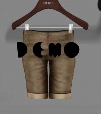 Bermuda Shorts For Men Demo Gift by DROP - Teleport Hub - teleporthub.com
