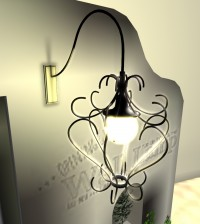 1 Prim Wall Lamp Opening Gift Expires on 31 August by [fk] - Teleport Hub - teleporthub.com