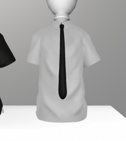 Male Polo Shirt and Tie Demo Gift by DROP - Teleport Hub - teleporthub.com