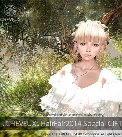 Hair Hair 2014 Group Gift by cheveux - Teleport Hub - teleporthub.com